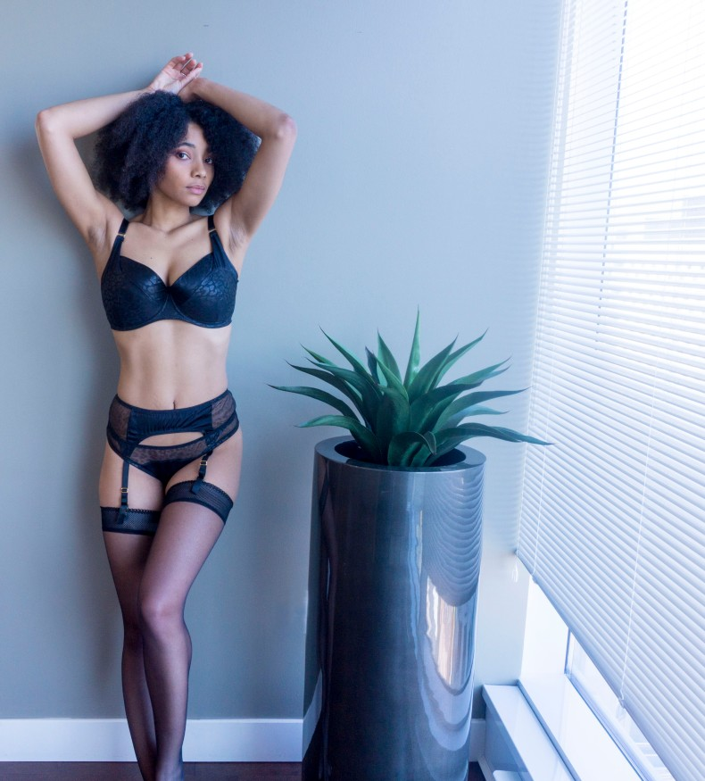 Catwoman lingerie by All Undone: The MiMi (32GG & S)